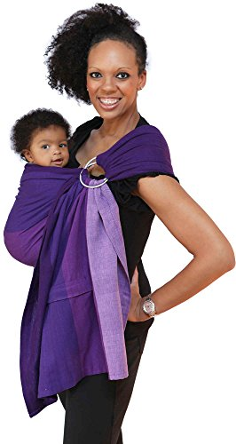 Maya Wrap Lightly Padded Ring Sling - Isle of Skye - Large