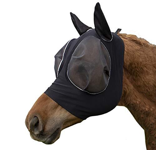 Derby Originals Reflective Bug Eye Lycra Fly Mask with One Year Warranty by Derby Originals