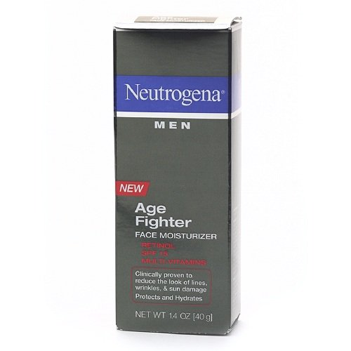 Neutrogena Men Age Fighter Face Moisturizer 1.4 oz (40 (Fighter Face Moisturizer)