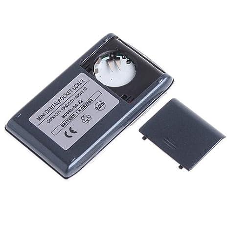 Mini LCD Digital Feinwaage Briefwaage Goldwaage Waage Pr/äzisionswaage 100g//0.1g