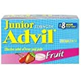 Advil Junior Strength Chewable Fruit