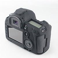 FNSHIP Professional Soft Silicone Rubber Camera Protective Cover Case Skin For Canon EOS 5D Mark III, 5DS, 5DSR Digital SLR Camera (Black)
