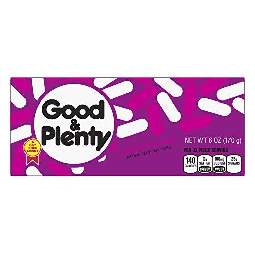- Hershey's Good N Plenty Box, 6 oz