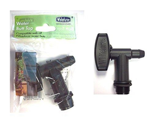 whitefurze bac robinet d'eau de pluie en plastique compatible avec ... - Robinet Pour Recuperateur D Eau De Pluie