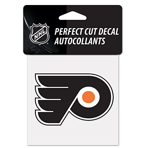 Flyer Express (NHL Philadelphia Flyers Perfect Cut Color Decal, 4