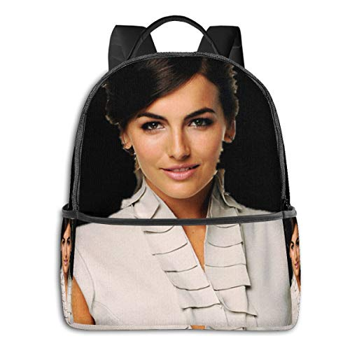 Tchcc Camilla Belle 17 Inch Laptop Backpack with Large Compartment Business Daypack Bookbag for Men Women Teens