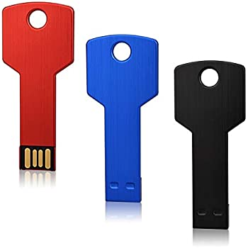 Amazon.com: K&ZZ - Memoria USB de 32 GB, diseño de llave de ...