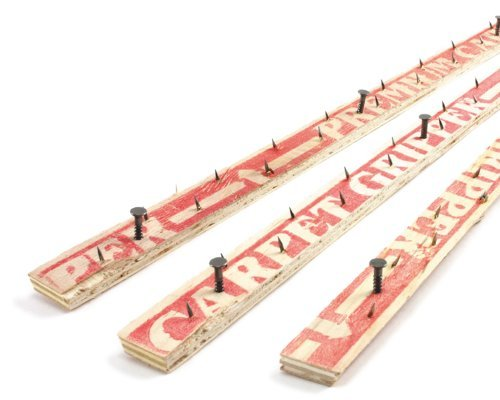 M-D Building Products 75093 Wood/Concrete Nail 48-Inch Carpet Tack Strip, 3 Pack by M-D Building (Carpet Tack Strips)