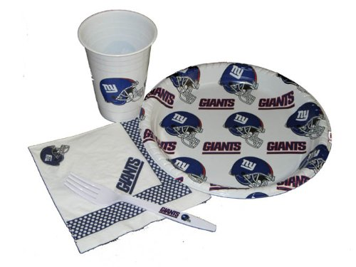(NFL New York Giants Party Pack)