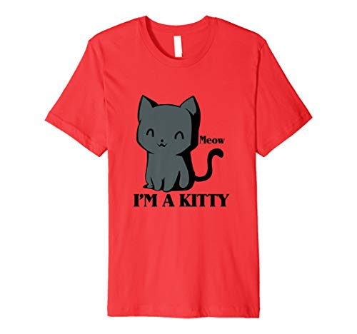 I'm a Kitty Meow Funny Halloween Costume T-Shirts ()