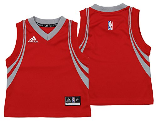 adidas NBA Toddler's Houston Rockets Road Replica Jersey, Red 3T ()