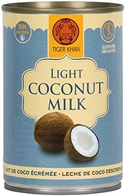 TIGER KHAN Leche de Coco Light 400ml: Amazon.es: Alimentación y ...