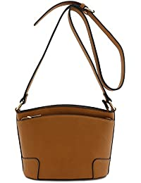Classic Double Zip Small Crossbody Bag