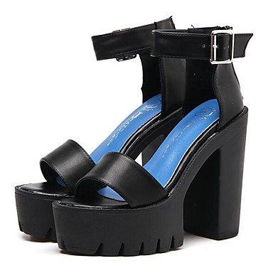 à Chaussures Confort Talons Noir ggx Cuir Habillé Plat Femme Printemps Nappa Confort Blanc white LvYuan Décontracté awRq4xAH