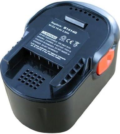 2000mAh Ni-MH 14.4V Batterie type AEG B1414G