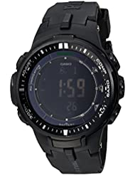 Casio Mens PRW-3000-1ACR Protrek Black Sport Watch
