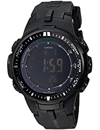 Men's PRW-3000-1ACR Protrek Black Sport Watch