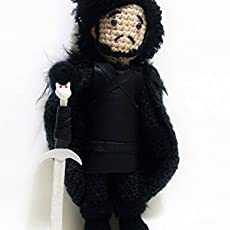 Jon Snow Doll amigurumi