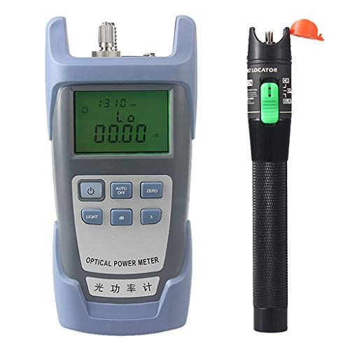 Baosity AUA-9 Fiber Optic Cable Tester Optical Power Meter with Sc & Fc Connector Fiber Tester + 30mW Visual Fault Locator Equipment for CATV Test,CCTV TES by Baosity (Image #3)