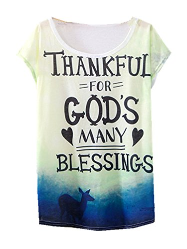 Shirt YICHUN Digital Leisure 12 Girls Shirt Faith Wear Tunic Tops Women Trendy T Casual Thin Printed Tees Fashion wASwrZq