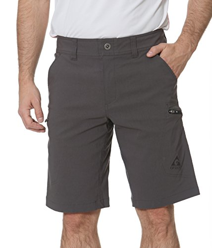 Gerry Stretch River Hiking Short (34, Slate)… by Gerry