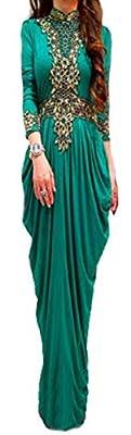 WUBU Kaftan Maxi Dress Evening Gowns Evening Dresses Wedding Dress Cocktail Dress