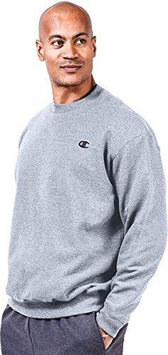 Champion Big & Tall Men's Fleece Sweatshirt_Heather