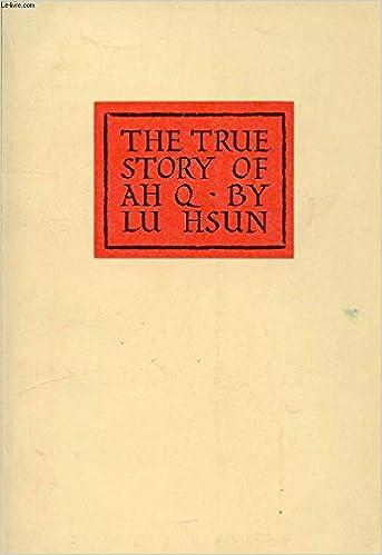 The True Story of Ah-Q
