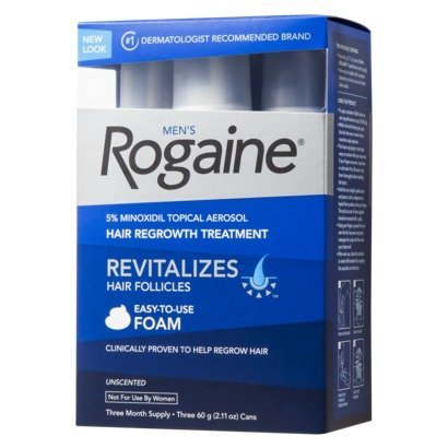 Rogaine for Men Hair Regrowth Treatment 3 Months Supply Foam 529481200