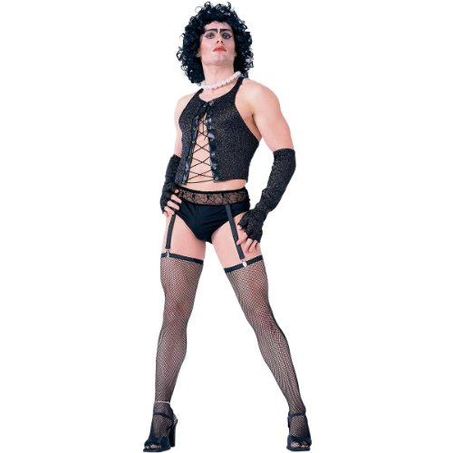 Forum The Rocky Horror Picture Show Frank And Furter Complete Costume, Black, Standard -