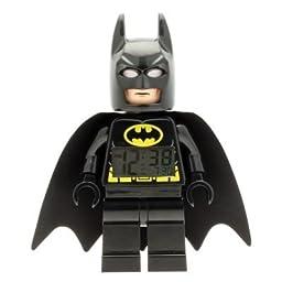 LEGO Kids\' 9005718 DC Super Heroes Batman Mini-Figure Light Up Alarm Clock