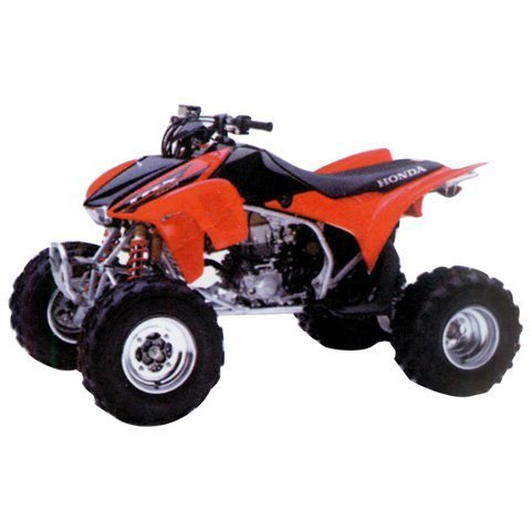Honda Trx450r Stock - NEW RAY '06 HONDA TRX450R ATV TOY - RED, Manufacturer: NEW RAY, Manufacturer Part Number: 57093A-AD, Stock Photo - Actual parts may vary. by New Ray Toys