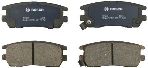 Bosch BP567 QuietCast Premium Semi-Metallic Disc Brake Pad Set For 1995-1998 Eagle Talon and 1992-2000 Mitsubishi Montero; -