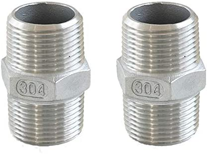 Horiznext 90 Degree Elbow npt 1//2 Stainless Steel Street Pipe Fittings