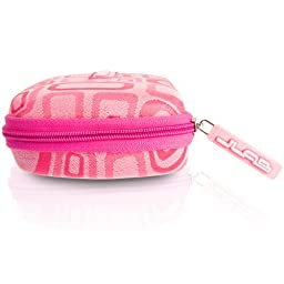 JLAB JPTC88 Samba Travel Case for JBuds J2 Earbuds - Pink
