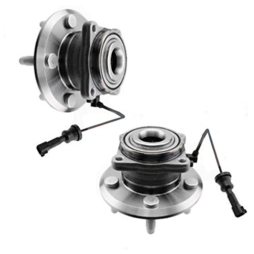 (New REAR Complete Driver & Passenger Wheel Hub and Bearing Assembly for 2010-2016 Chevy Equinox - [10-16 GMC)
