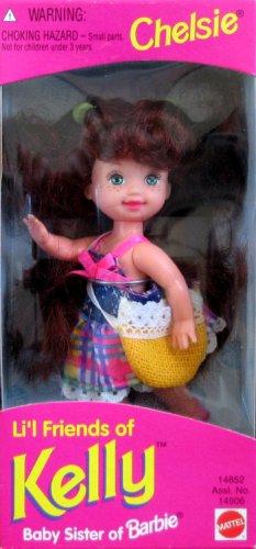 Barbie Li'l Friends of Kelly CHELSIE Doll - Brown Chelsie