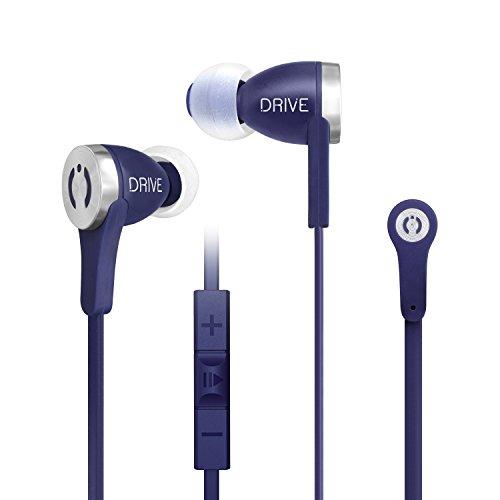 MuveAcoustics Drive MA-1000FB Premium In-Ear Headphones (Flagship Blue)
