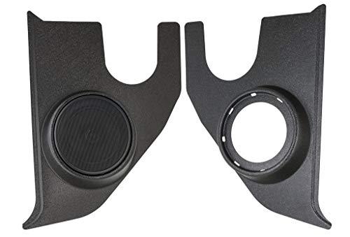 67-72 Chevy/GMC Truck Textured ABS Plastic Kick Panels Compatible W/RetroSound Speakers