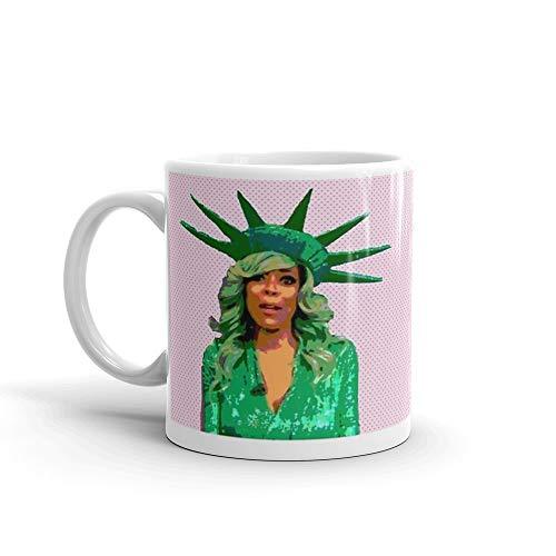statue liberty halloween fall meme mug and merch 11 Oz White Ceramic]()