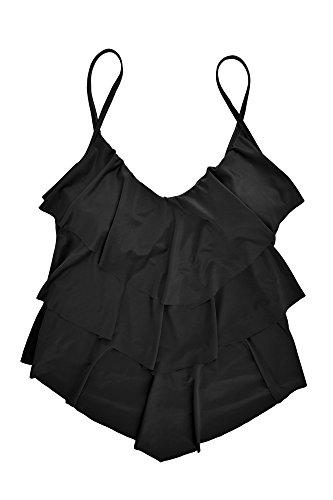 ebuddy - Top de bikini - para mujer negro