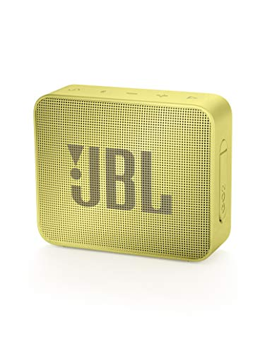 JBL GO2 Waterproof Ultra Portable Bluetooth Speaker – Yellow