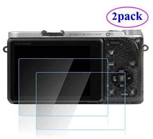 ZLMC NX500 Screen Protector Compatible with Samsung NX500 Camera [2 pcs] Tempered Skin Film Anti-Scratches Anti Dust Anti Fingerprint
