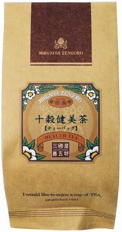 三國屋善五郎 ノンカフェイン 十穀健美茶 ティーバッグ 5g×10p お茶 日本茶 健康茶 コーン茶 黒豆茶 玄米茶