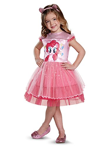 Pinkie Pie Movie Toddler Classic Costume, Pink, Medium -