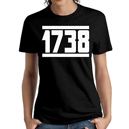 1738 Cognac - Wxf Womens 1738 Particular T Shirt Black M