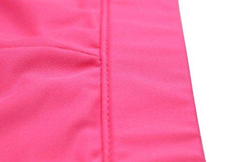 Patchwork Stripes Ladies Pantaloni Side Uncle NJunicorn Petite Buttons Rosa Lunghi Casual Casual Pantaloni xITwq0RanZ