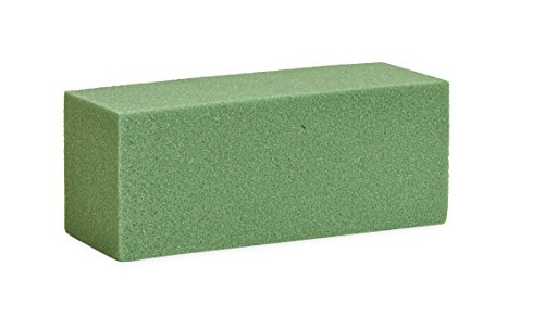 Floracraft FOB522S Dry Foam Block, 4.87-Inch by 1.87-Inch by 1.875-Inch, Green