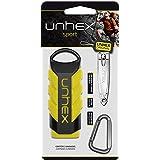 Estojo Unhex Sport 02 - Estojo + Cortador de Unhas p/Mãos + Mosquetão - Amarelo