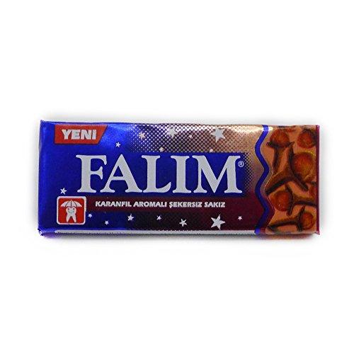 Falim Sugarless Plain Gum Clove Flavored (20 Pack (100 (Clove Gum)